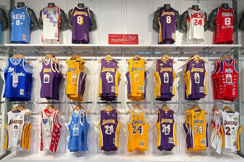 Mitchell & Ness 完整補貨傳奇球星 Kobe Bryant 歷年球衣