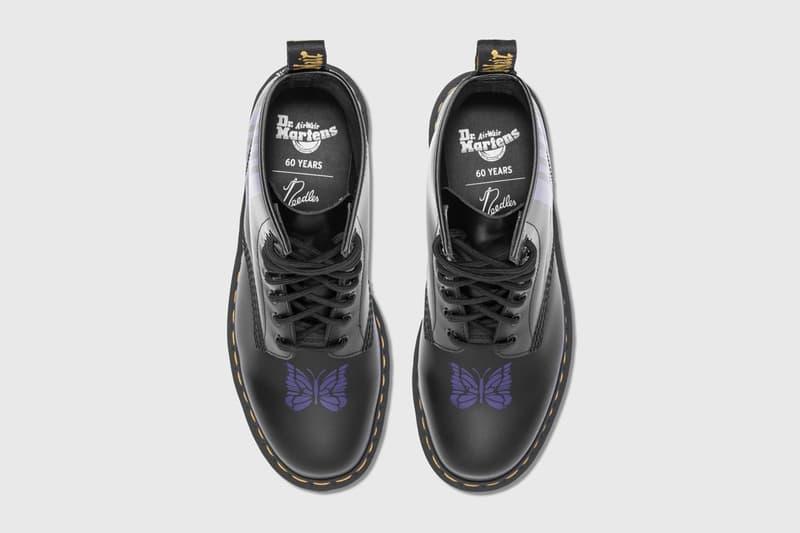 NEEDLES x DR. MARTENS 1460 BOOTS 最新聯名鞋款現正登陸 HBX
