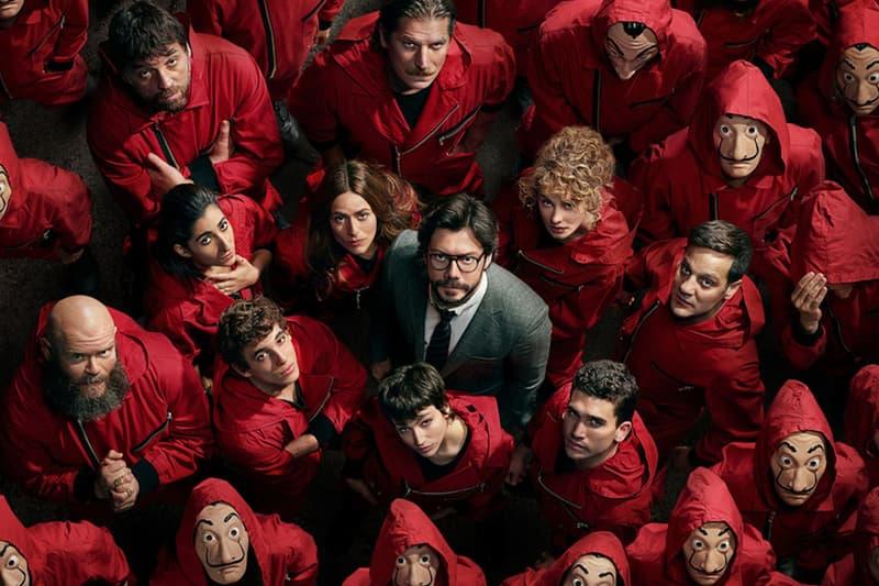 Netflix 人氣影集《紙房子 Money Heist》宣佈第五季確立回歸