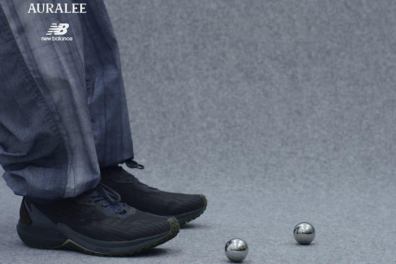 New Balance x AURALEE 全新聯乘系列鞋款正式發佈