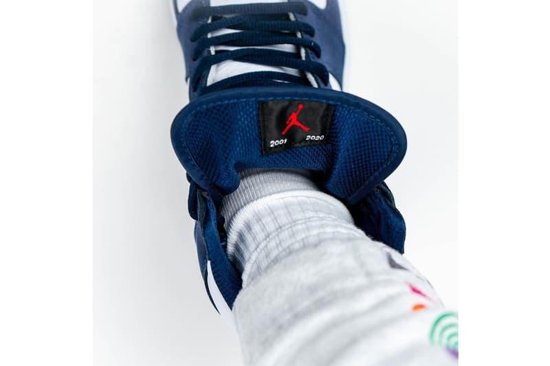 Air Jordan 1 High OG 日本限定配色「Midnight Navy」近賞圖輯率先曝光