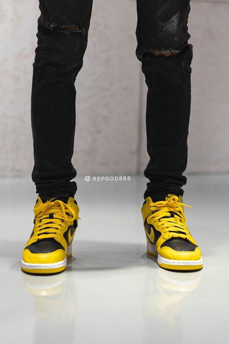 率先預覽 Nike Dunk High SP 最新配色「Varsity Maize」實著圖輯