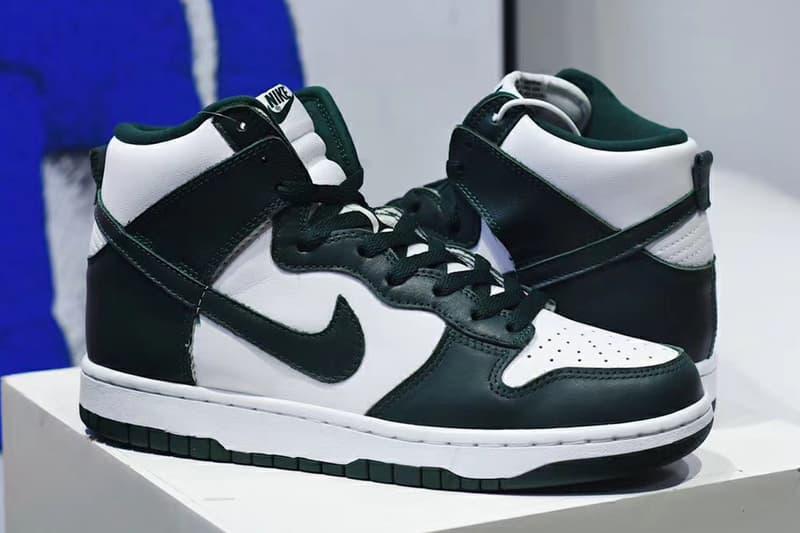 Nike Dunk High 經典配色「Pine Green」發售情報正式公開