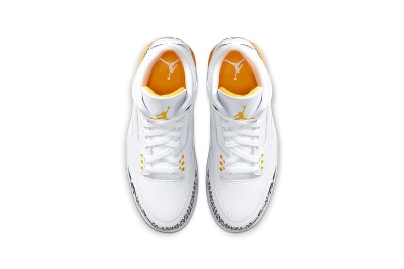 Air Jordan 3 最新配色「Laser Orange」即將上架