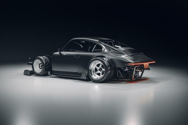 英國藝術家打造 Porsche 964 工業科幻風格豪改