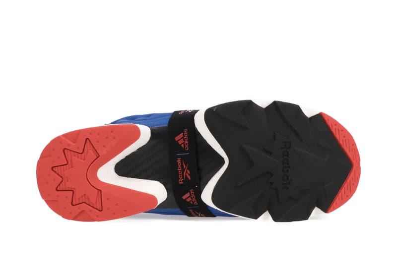 Reebok x adidas Instapump Fury BOOST™ 全新配色「Triumphant Blue」正式登場