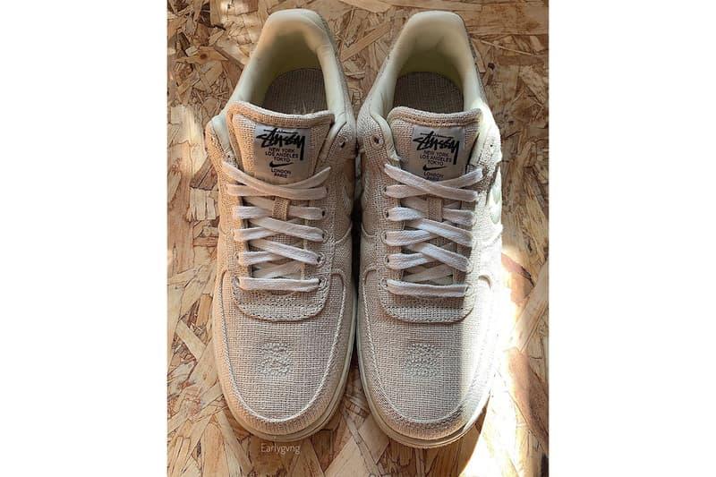 率先預覽 Stüssy x Nike Air Force 1 最新聯乘鞋款