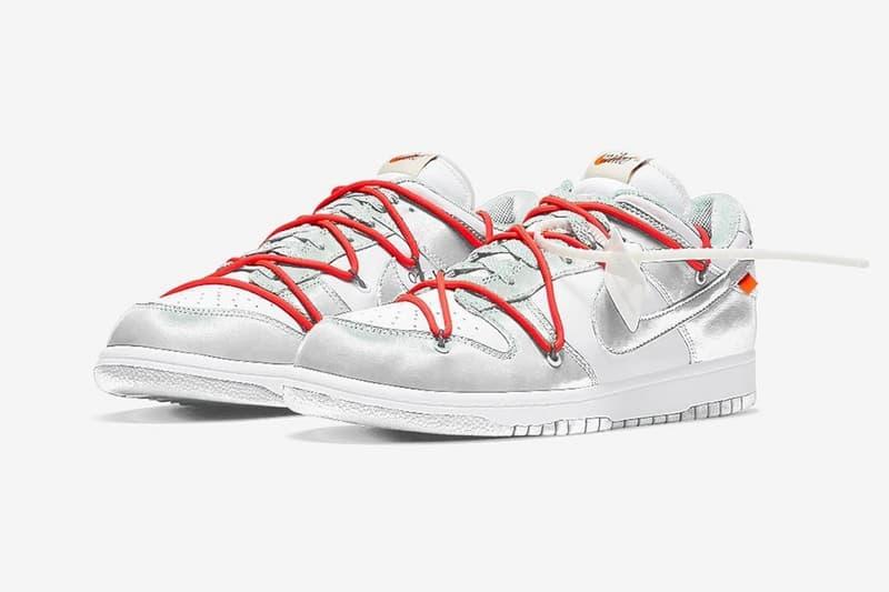 Off-White™ x Nike SB Dunk Low 聯乘鞋款 Sample 曝光