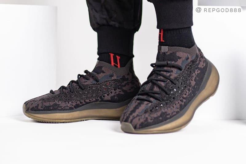 率先近賞 adidas YEEZY BOOST 380「Calcite Glow」&「Onyx」上腳圖輯