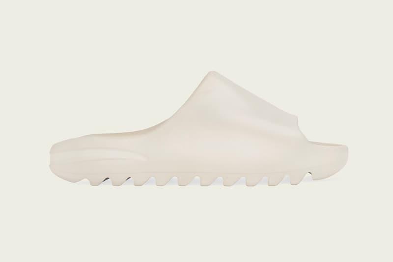 adidas YEEZY SLIDE 最新配色「Bone」即將補貨上架