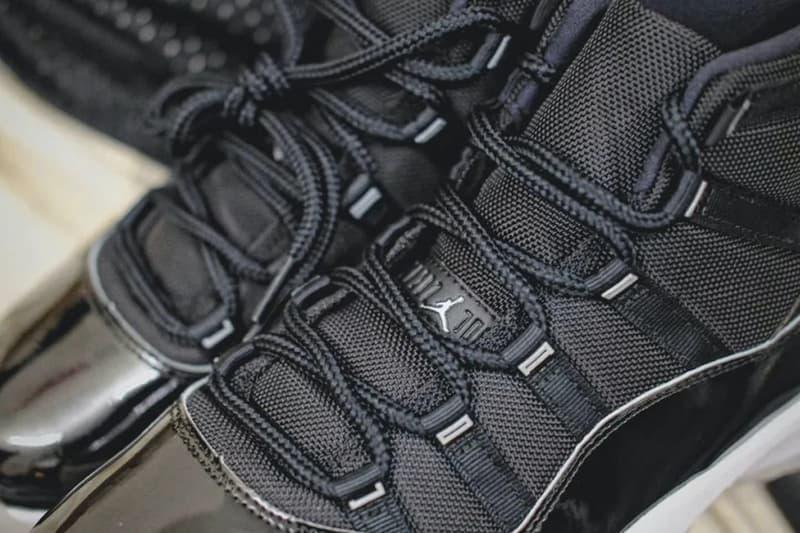Air Jordan 11 最新復刻配色「25th Anniversary」近賞圖輯曝光