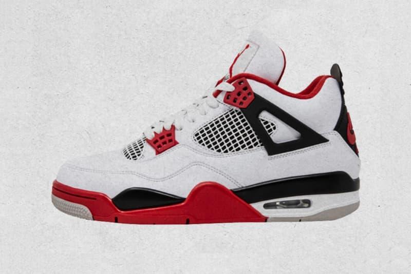 Air Jordan 4 經典配色「Fire Red」即將復刻上架