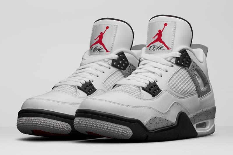 Air Jordan 4 經典白水泥配色「White Cement」復刻日期疑似曝光