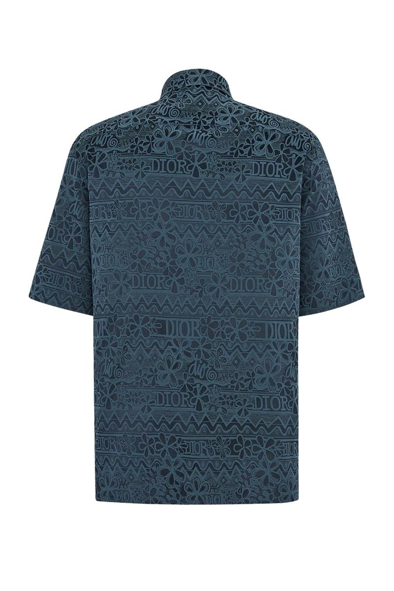 Dior x Shawn Stussy 塗鴉印花短袖襯衫發售情報