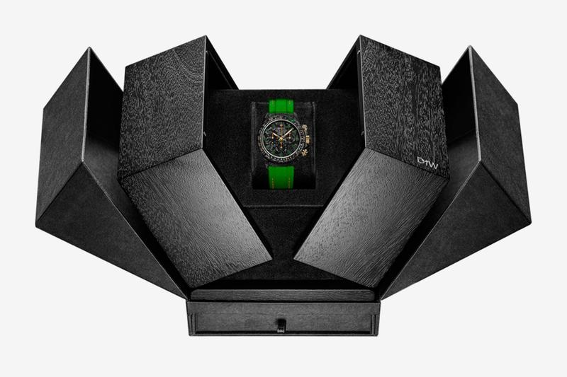 DiW 打造要價 $48,000 美元 Rolex Daytona 全新碳纖維定製腕錶