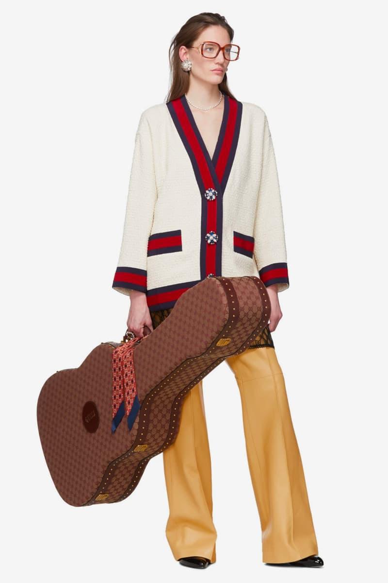 Gucci 推出要價 $8,300 美元之經典印花吉他琴盒