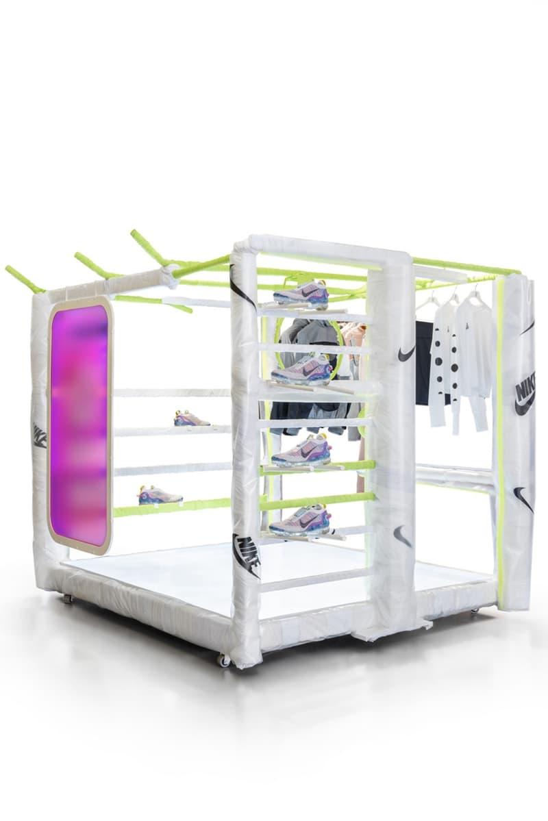 Nike 攜手家具設計師 Harry Nuriev 打造室內展示裝置