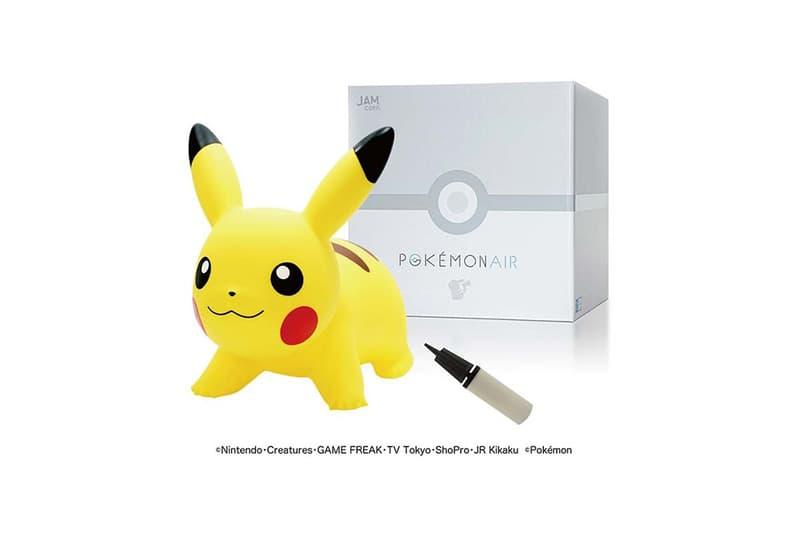 JAM Corp 推出 POKEMON AIR 皮卡丘充氣玩物
