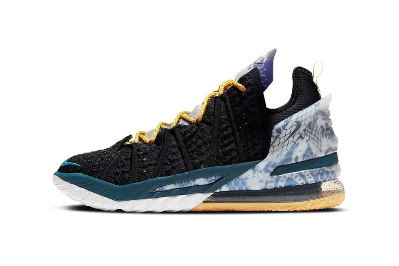 Nike LeBron 18 最新配色「Multi-Color」、「Reflections」官方圖輯發佈