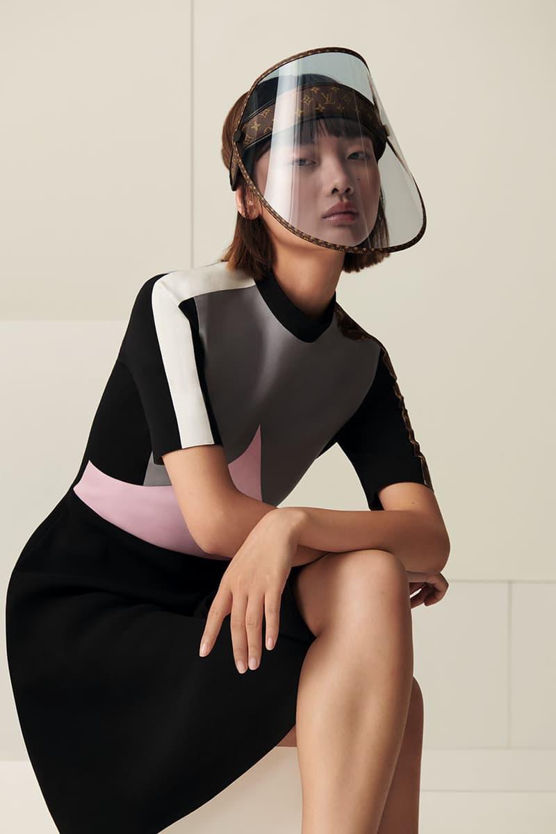 Louis Vuitton 推出全新經典印花透明面罩