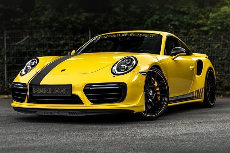 MANHART 打造 800 匹馬力 Porsche 911 Turbo S 全新動力強化車型