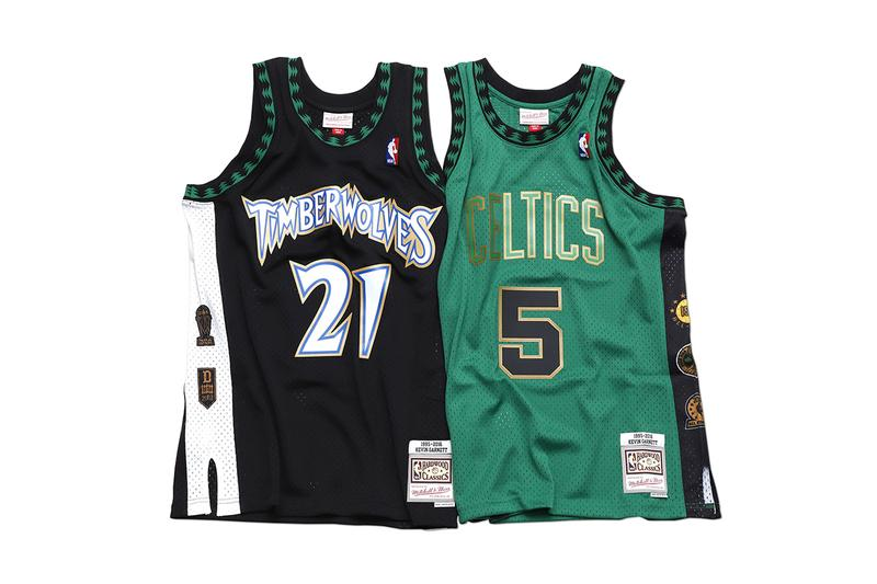 Mitchell & Ness 推出全新籃球名人堂別注球衣