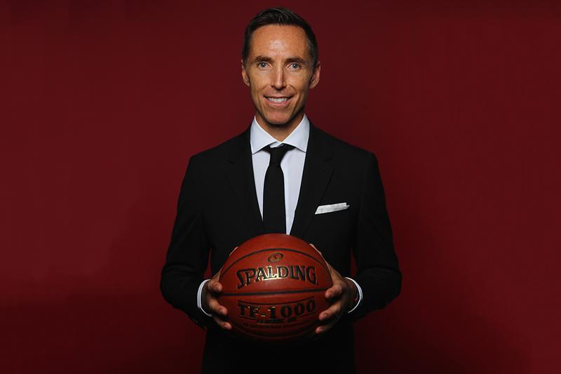 NBA 傳奇球星 Steve Nash 正式接任 Brooklyn Nets 總教練