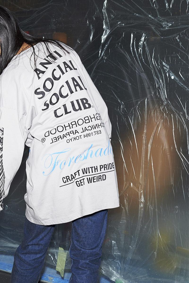 NEIGHBORHOOD x Anti Social Social Club 全新聯乘系列發佈
