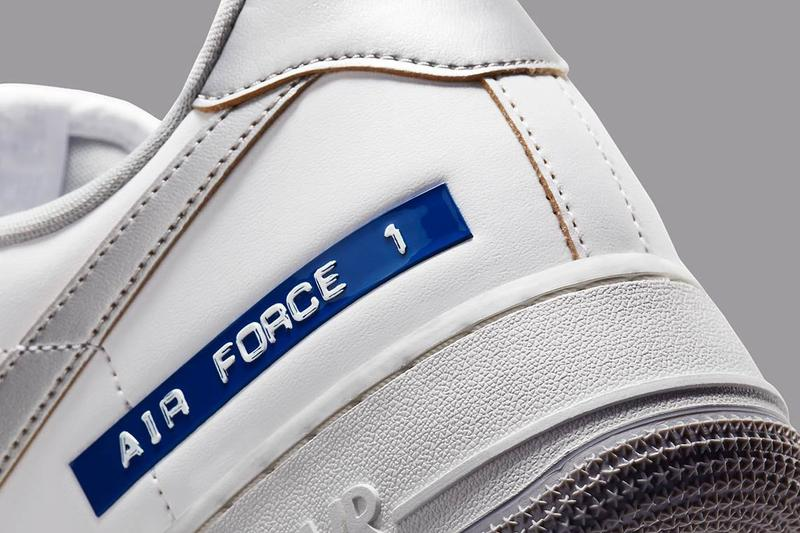 復古陳舊-Nike Air Force 1 最新配色「Label Maker」率先登場