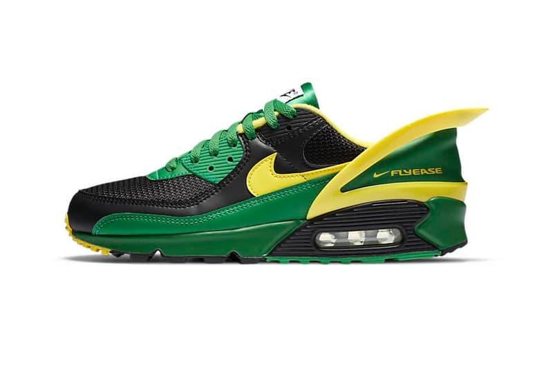 Nike Air Max 90 FlyEase 全新配色「Apple Green」正式發佈