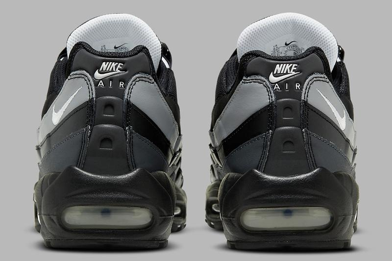 Nike Air Max 95 Essential 推出全新「黑白灰」極簡配色
