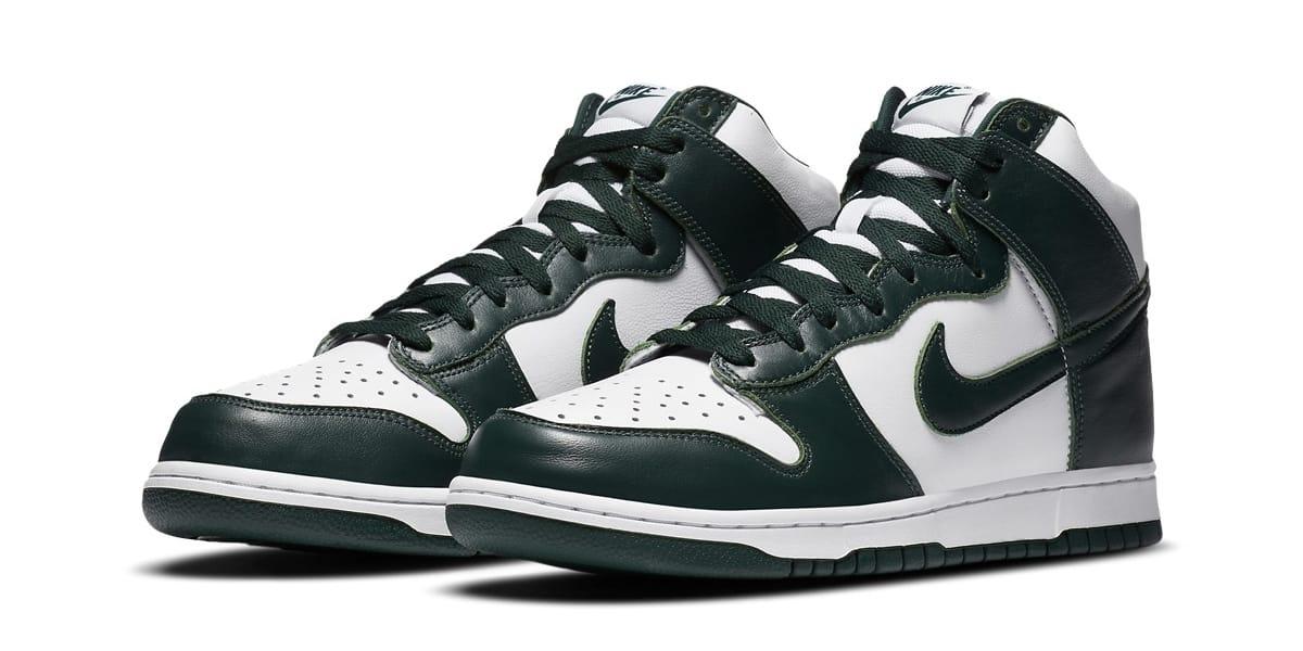 Nike Dunk High SP 最新配色「Spartan
