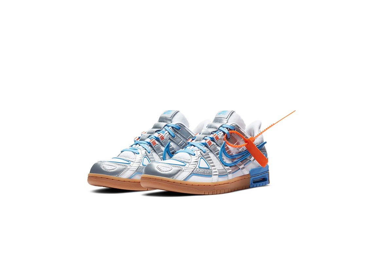 Off-White™ x Nike Air Rubber Dunk 聯乘系列鞋款正式發佈
