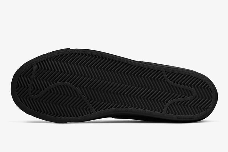 Nike SB Blazer Mid 最新黑白對比配色「Black Suede」正式登場