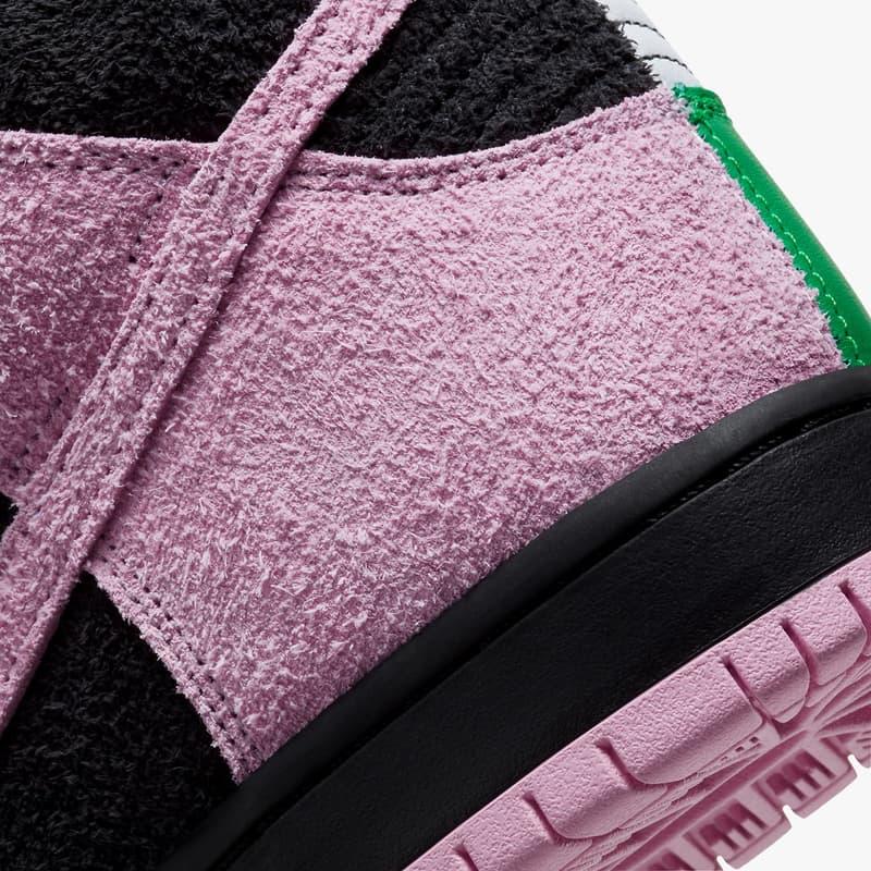 Nike SB Dunk High 全新配色「Invert Celtics」正式登場