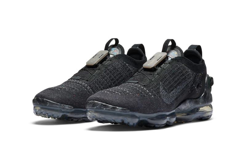 Nike Air VaporMax 2020 最新配色「Black/Dark Grey」發佈