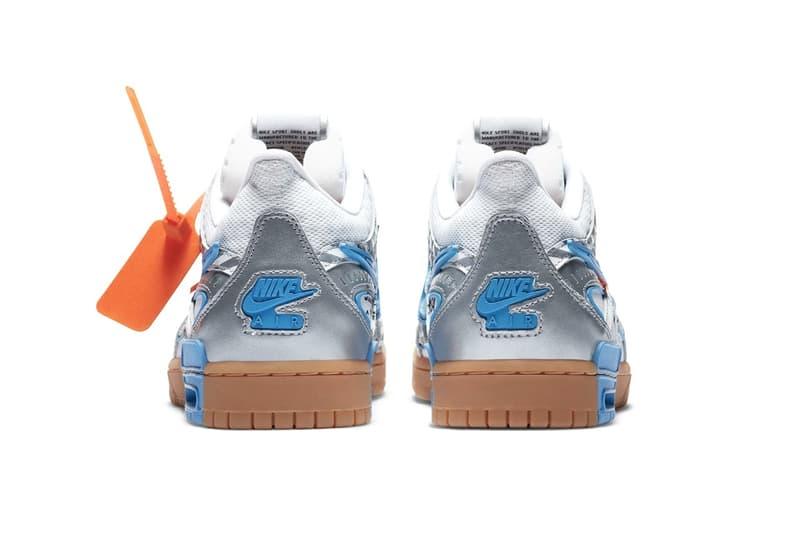 Off-White™ x Nike Air Rubber Dunk 最新聯乘鞋款「University Blue」正式發佈