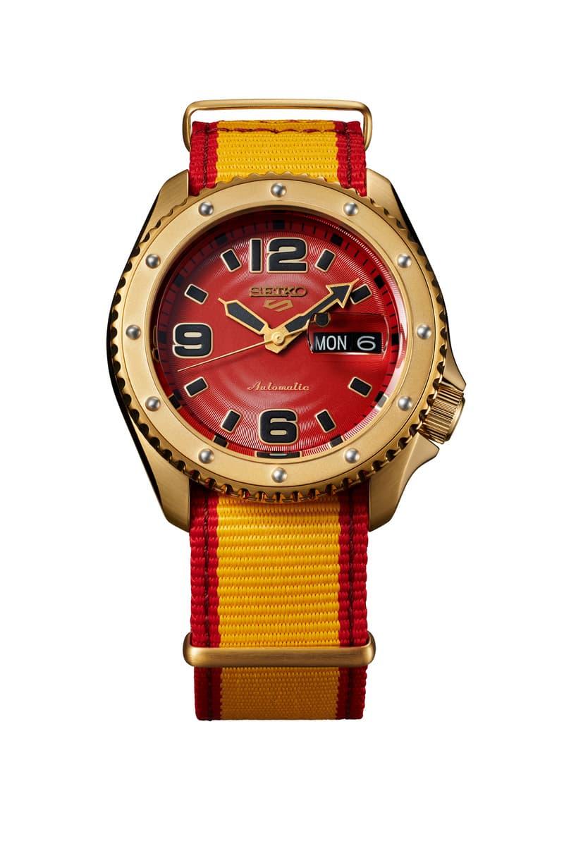 Seiko 5 Sports x《Street Fighter V》全新聯乘腕錶系列發佈