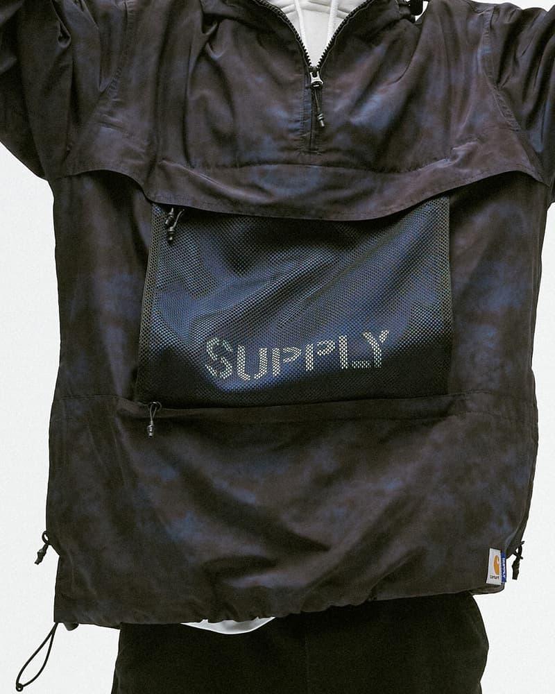 Carhartt WIP x Supply 最新聯名系列發售情報公開