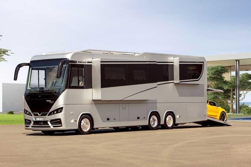 富豪玩物 – Variomobil 推出起價 $100 萬美元豪華露營車「Vario Perfect 1200 Platinum」