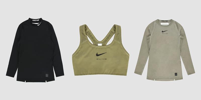 1017 ALYX 9SM x Nike 全新 Essentials 聯乘系列正式發佈