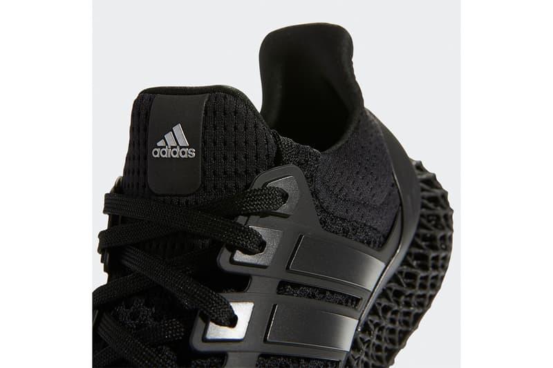 adidas 混種跑鞋 Ultra 4D 全新配色「Triple Black」港台發售消息