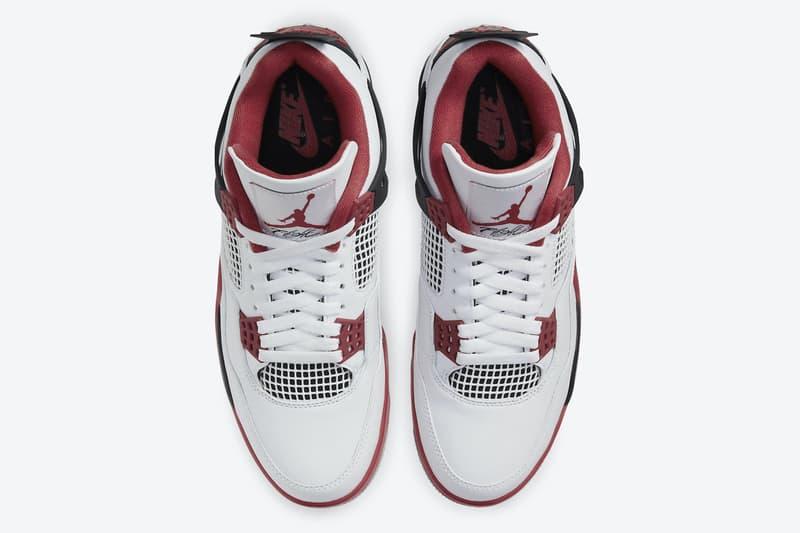 Air Jordan 4 OG 經典配色「Fire Red」官方圖輯、發售情報公開