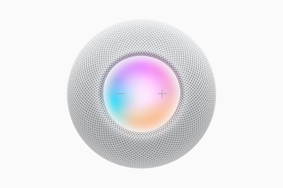Apple 发布会-全新智能揚聲器 HomePod mini 出眾登場