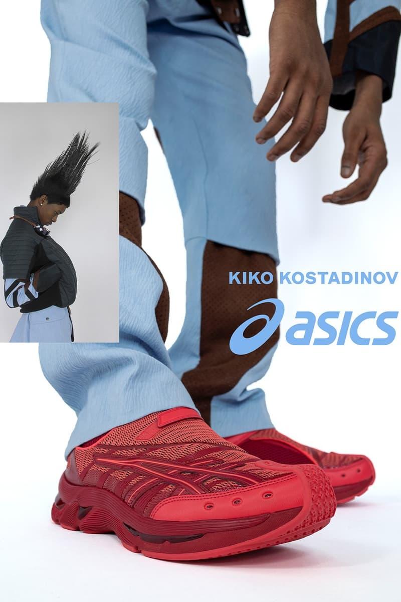 Kiko Kostadinov x ASICS GEL-Kiril 2 最終回聯名系列正式登場