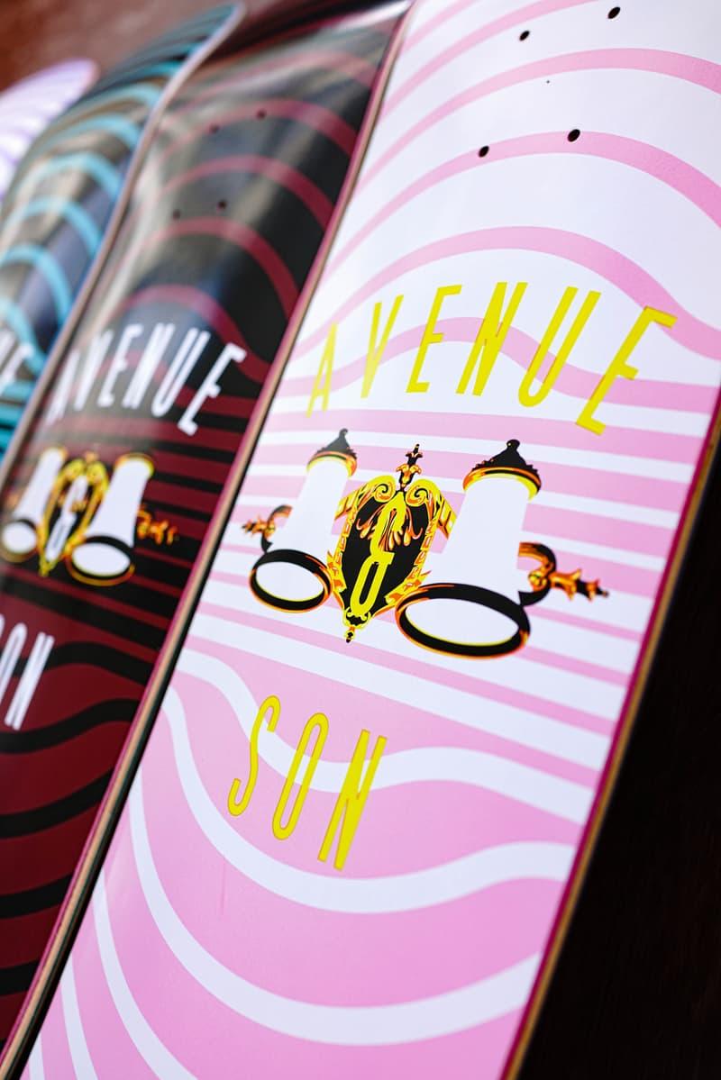 Avenue & Son 2020 秋冬滑板板身系列正式發佈