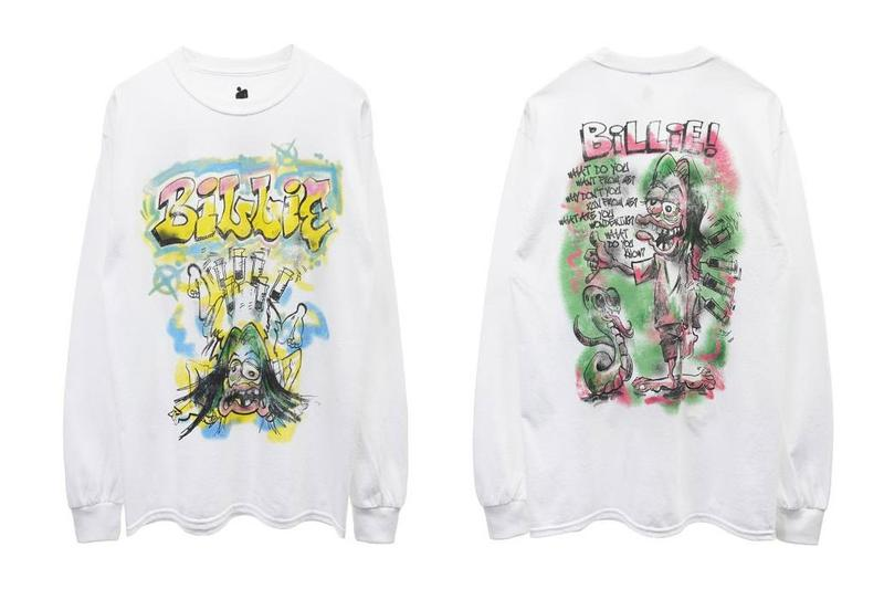 Billie Eilish x READYMADE 周邊 T-Shirt 系列發佈