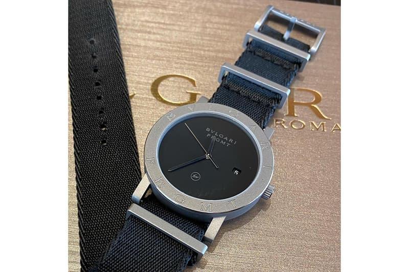 藤原浩曝光全新 BVLGARI x fragment design 聯乘腕錶