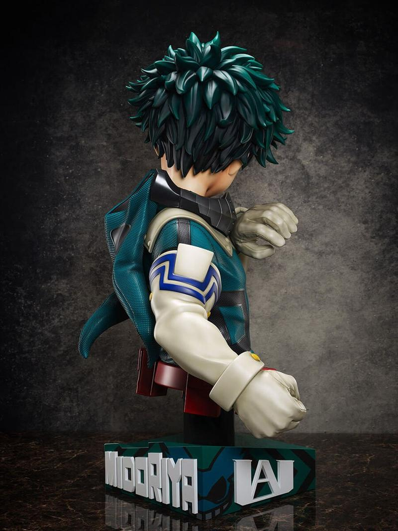 FuRyu 推出《我的英雄學院》主角綠谷出久 1:1 真實尺寸半身雕像
