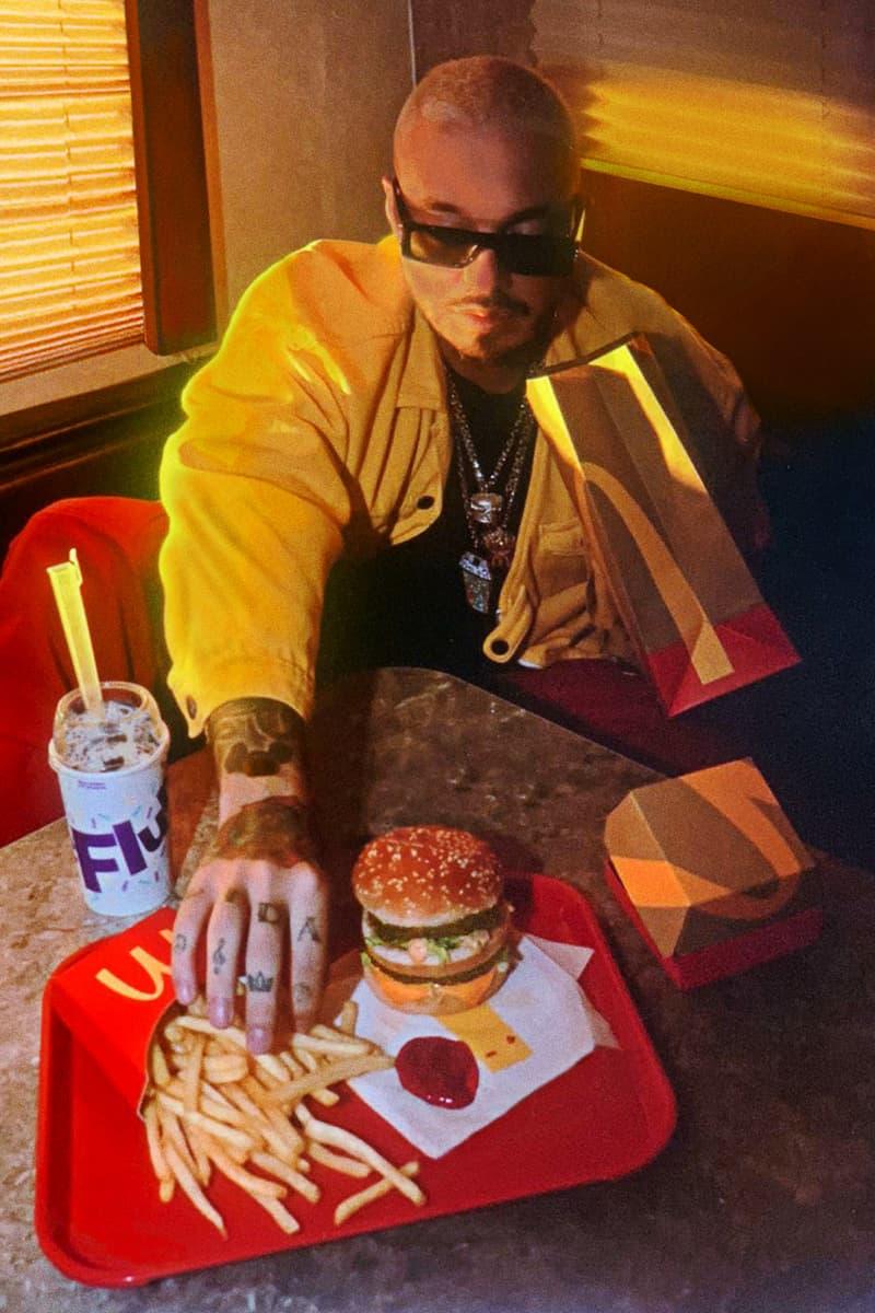 J Balvin 成為繼 Travis Scott 後 McDonald's 最新合作藝術家